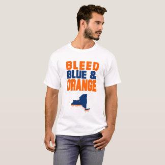 Camiseta Azul & laranja sangrados de Siracusa!