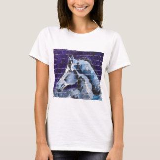 Camiseta Azul, Logan Blue Line quadrado