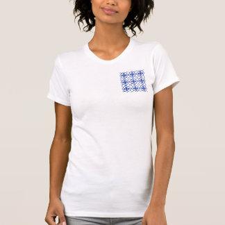 Camiseta Azul marroquino