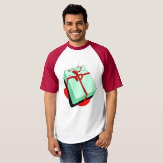 Camiseta Azulejo vermelho sangrento do dragão