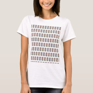 Camiseta Azulejos abstratos