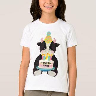 Camiseta B-Dia feliz ao MOO!