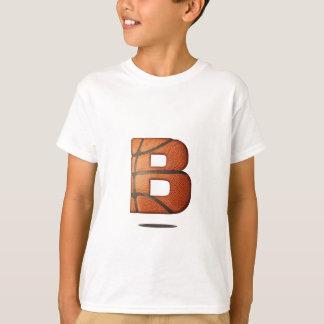 Camiseta B é para o basquetebol