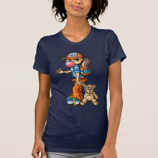 Camiseta B girl and teddybear