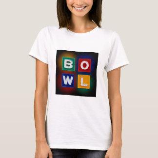 Camiseta B O W L néon