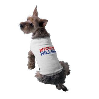 Camiseta B*tches para Hillary - camisola de alças do