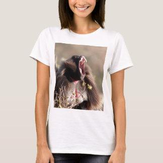 Camiseta Babuíno masculino do gelada (gelada de