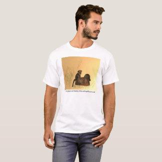 Camiseta Babuínos do bebê da mãe - os animais selvagens