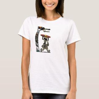 Camiseta Baby dool com o pé
