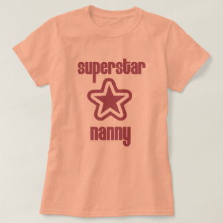 Camiseta Baby-sitter da estrela mundial