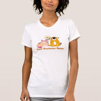 Camiseta Baby-sitter do animal de estimação