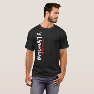 Camiseta Bachata está em meu roupa Latin do dançarino da