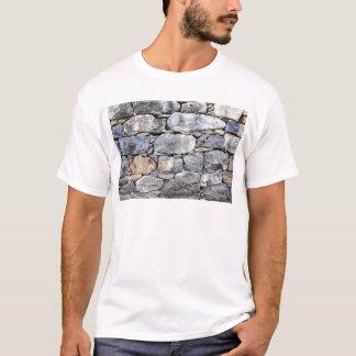Camiseta Backgound de pedras naturais como a parede