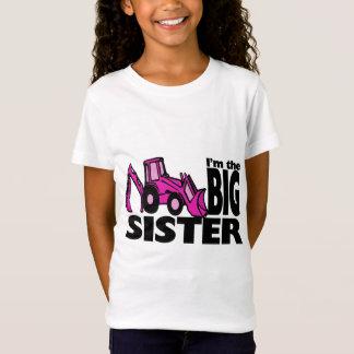 Camiseta Backhoe da irmã mais velha
