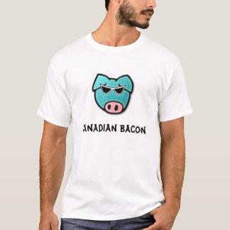 Camiseta Bacon canadense, bacon canadense