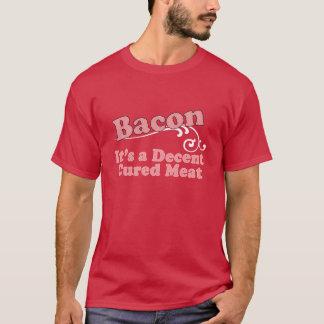 Camiseta Bacon - é uma carne curada aceitável