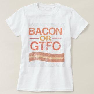 Camiseta Bacon ou GTFO DS