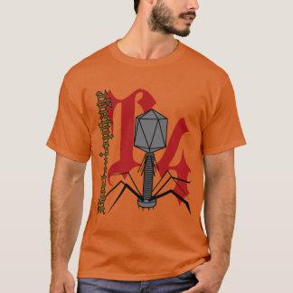 Camiseta Bacteriófago T4