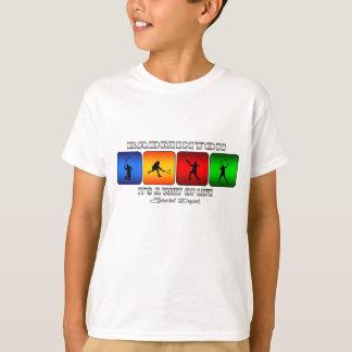 Camiseta Badminton legal é um modo de vida