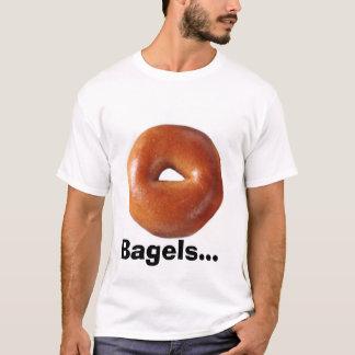 Camiseta Bagels e queijo