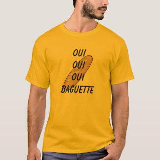 Camiseta Baguette de Oui! T-shirt