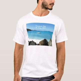 Camiseta Baía da canela, St John USVI
