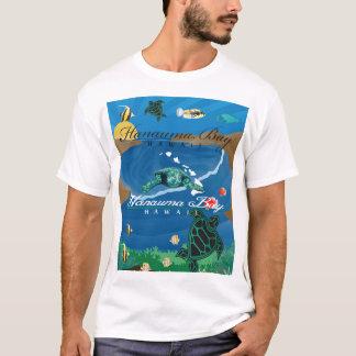 Camiseta Baía de Hanauma das ilhas de Havaí