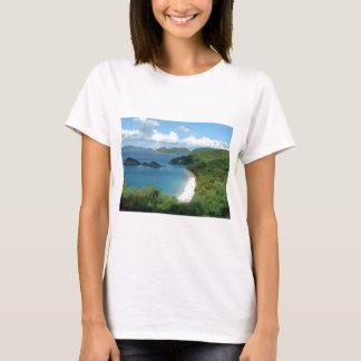 Camiseta Baía do tronco, St John, USVI
