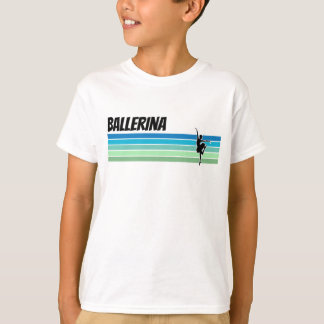 Camiseta Bailarina retro