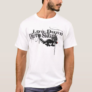 Camiseta Baixa para baixo jaritataca suja