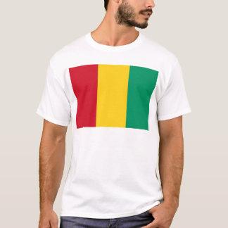 Camiseta Baixo custo! Bandeira da Guiné
