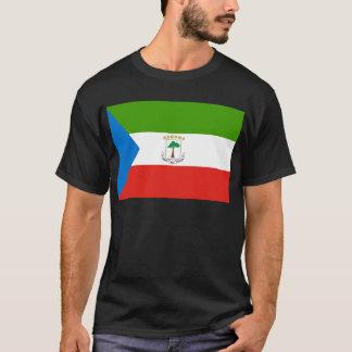 Camiseta Baixo custo! Bandeira da Guiné Equatorial