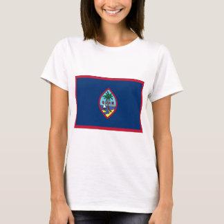 Camiseta Baixo custo! Bandeira de Guam
