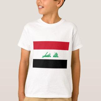 Camiseta Baixo custo! Bandeira de Iraque