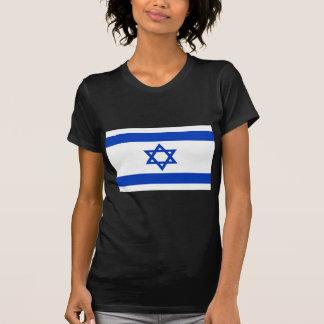 Camiseta Baixo custo! Bandeira de Israel