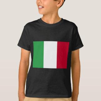 Camiseta Baixo custo! Bandeira de Italia