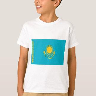 Camiseta Baixo custo! Bandeira de Kazakhstan
