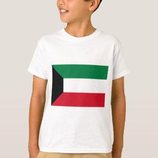 Camiseta Baixo custo! Bandeira de Kuwait