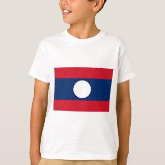 Camiseta Baixo custo! Bandeira de Laos