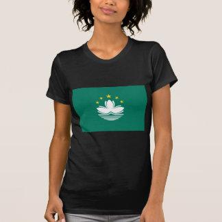 Camiseta Baixo custo! Bandeira de Macau