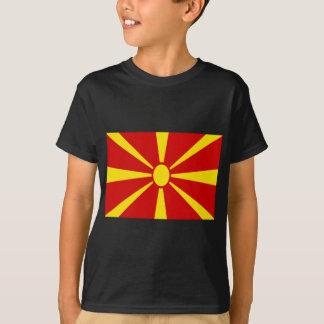 Camiseta Baixo custo! Bandeira de Macedónia