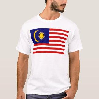 Camiseta Baixo custo! Bandeira de Malaysia