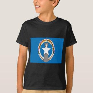 Camiseta Baixo custo! Bandeira de Northern Mariana Islands