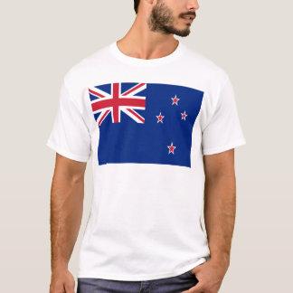 Camiseta Baixo custo! Bandeira de Nova Zelândia