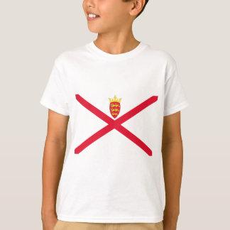 Camiseta Baixo custo! Bandeira do jérsei