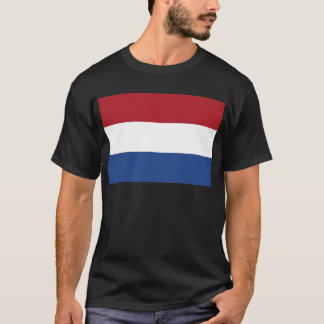 Camiseta Baixo custo! Bandeira holandesa