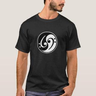Camiseta baixo de yin-Yang