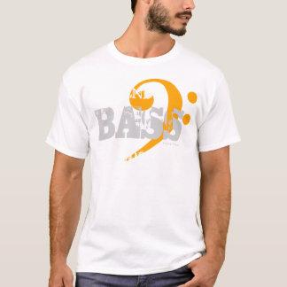 Camiseta Baixo do t-shirt do coro para a laranja do apoio 9