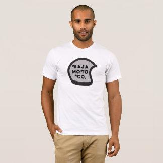 Camiseta Baja Moto Co. - capacete