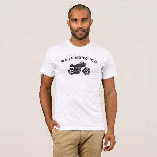 Camiseta Baja Moto Co. - piloto do café